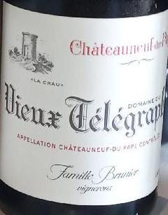 ChâteauNeuf du Pape - Vieux Télégraphe